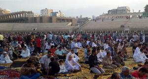 صلاة العيد بالزقازيق