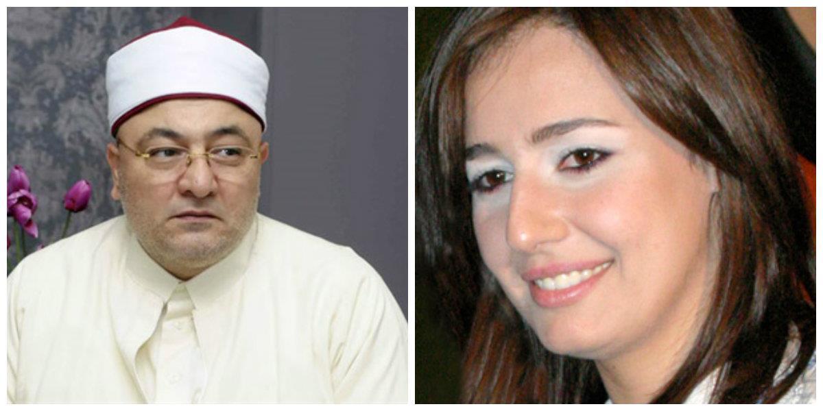 خالد الجندي على خلع حلا شيحة الحجاب