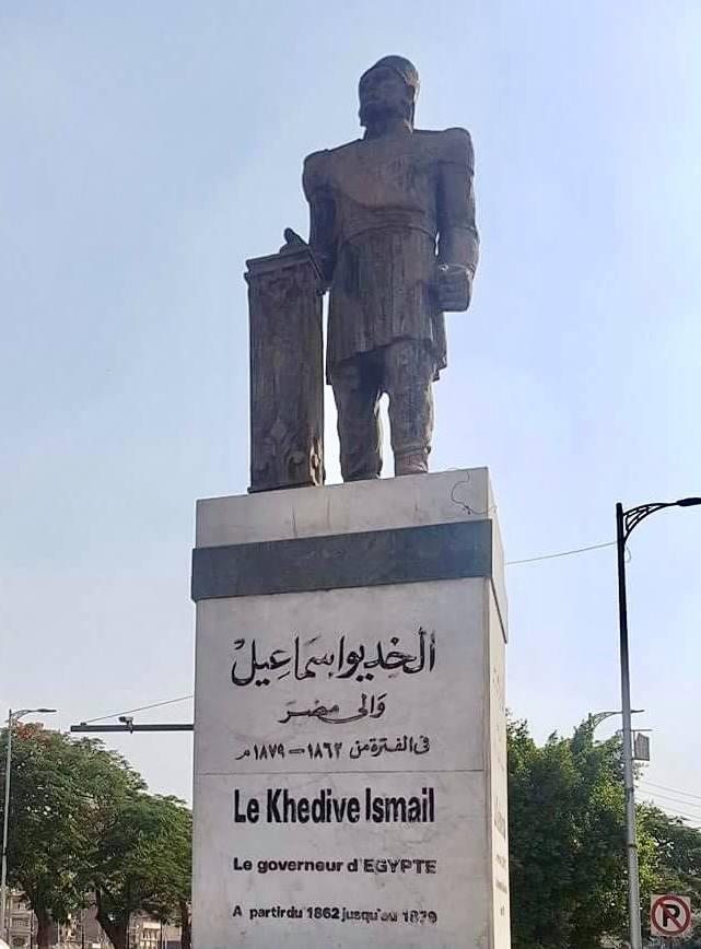 تمثال الخديوي إسماعيل يثير غضب رواد التواصل 1