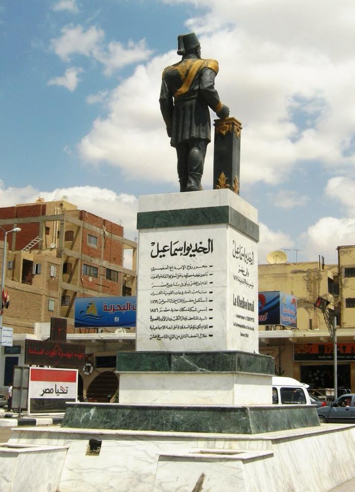 تمثال الخديوي إسماعيل يثير غضب رواد التواصل 2
