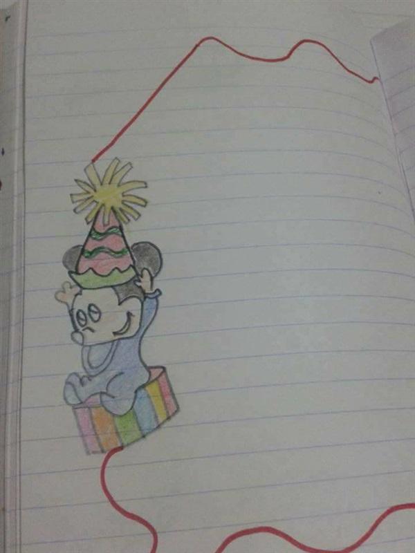 رسومات لتزيين دفاتر الاطفال