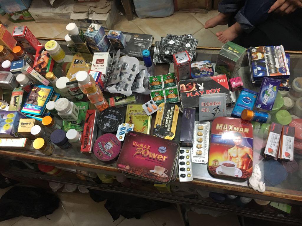 أكثر من ٨٠٠٠ قرص أدوية وغلق 51 صيدلية بالشرقية4