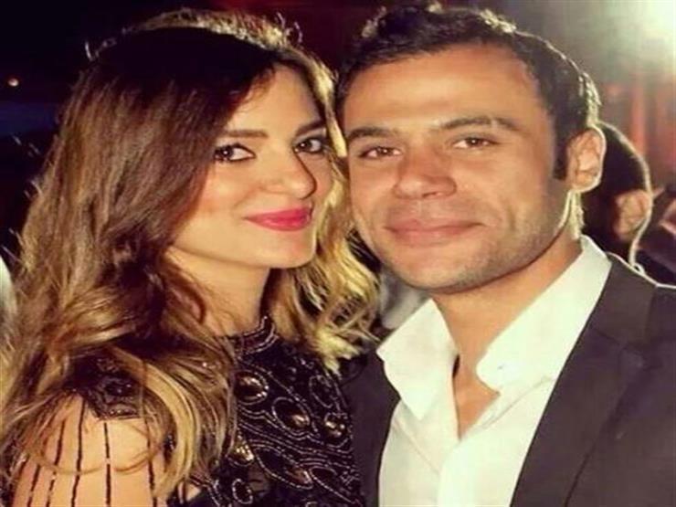فيديو لحفل زفافه محمد إمام