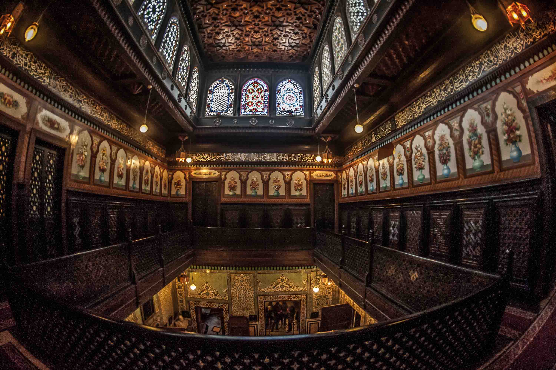 سراي الإقامة بقصر الأمير محمد علي
