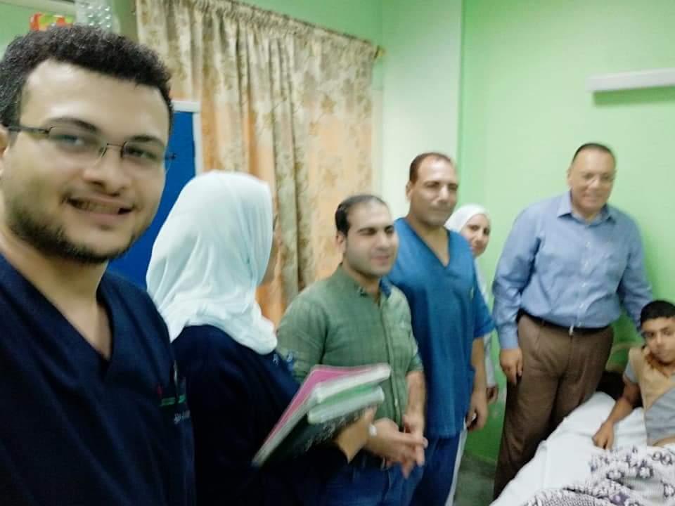 الشرقية الجديد يفاجئ العاملين بمستشفى المبرة في جولة بمفرده 2