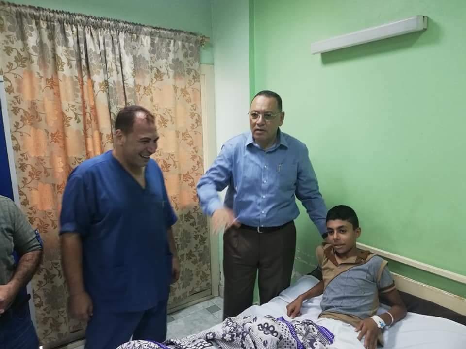 الشرقية الجديد يفاجئ العاملين بمستشفى المبرة في جولة بمفرده 3