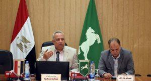 محافظ الشرقية يعفي مدير مستشفى فاقوس المركزي