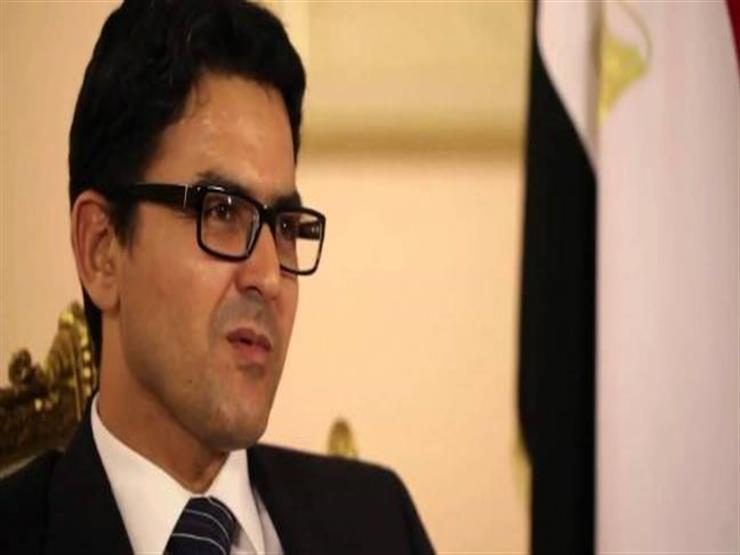 محمد محسوب بعد الإفراج عنه في إيطاليا