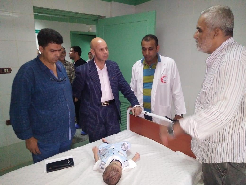 مستشفى حروق ههيا يستقبل طفل الإسماعيلية