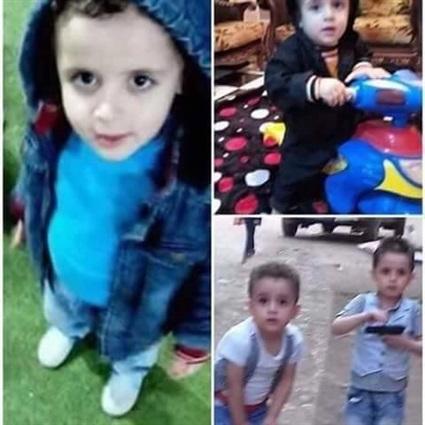 مقتل «ريان ومحمد» طفلي ميت سلسيل واعتراف والدهما