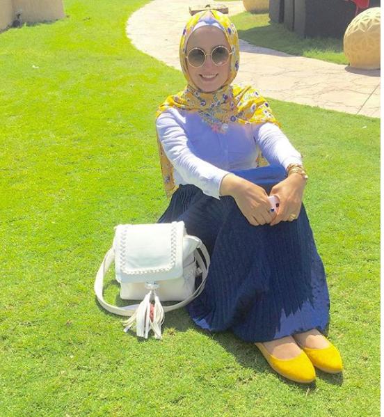 1cad2ef62 برس بي : نصائح ذهبية لاختيار إطلالتك الجامعية من وفاء عز الدين