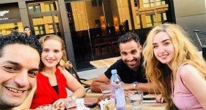 موعد خطوبة أحمد فهمي وهنا الزاهد