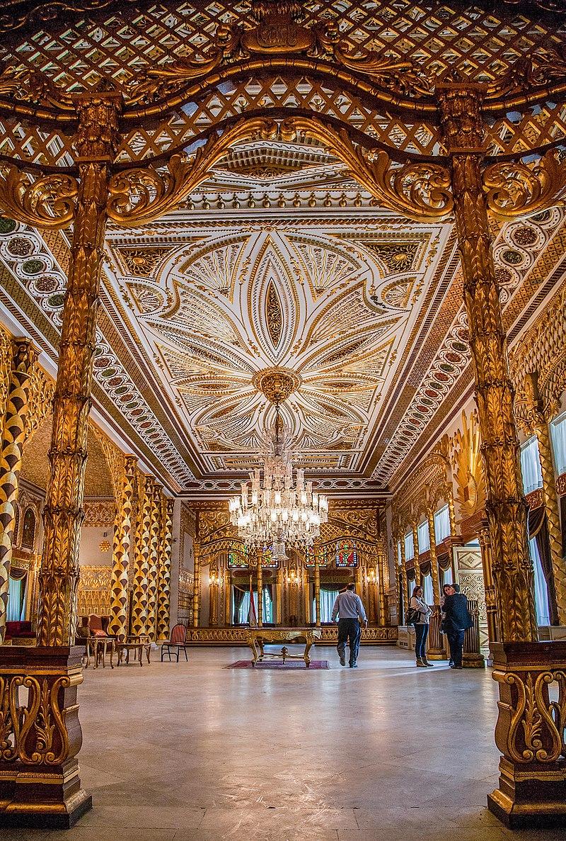 الغرفة الذهبية بقصر الأمير محمد علي
