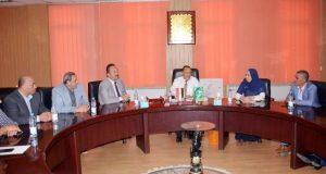 أعضاء فرع المجلس القومي للمرأة بالمحافظة