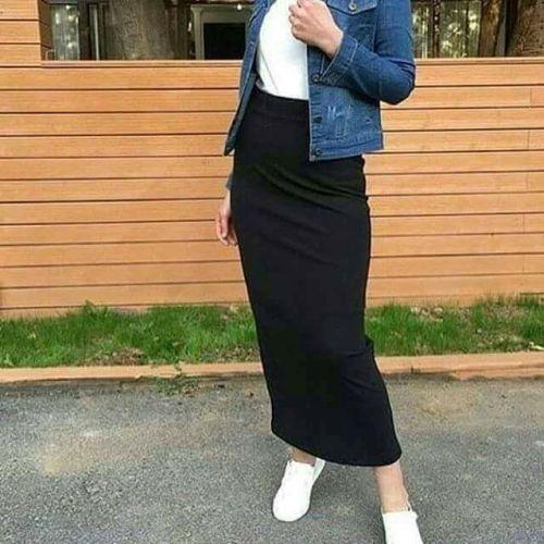 جاكيت جينز للمحجبات خريف 2018 شتاء 2019جاكيت جينز للمحجبات خريف 2018 شتاء 2019