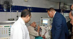 محافظ الشرقية في زيارة لمستشفى المبرة