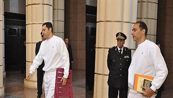 حبس علاء وجمال مبارك