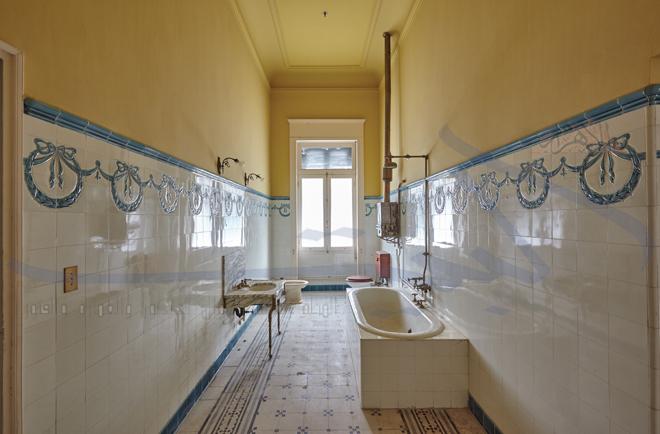 الحمام الخاص بقصر عائشة فهمي