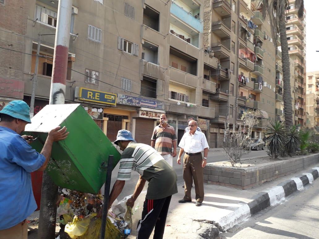 حملة نظافة بمدينة الزقازيق