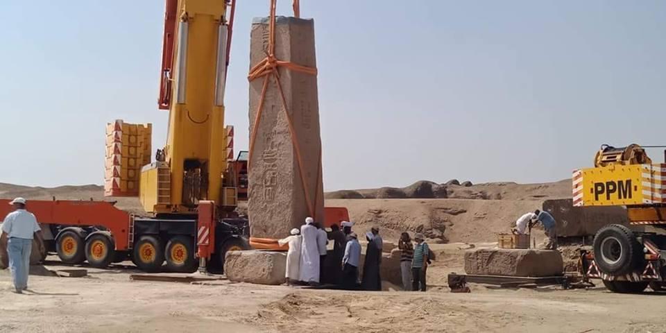 نائبة فاقوس تطالب وزير الآثار بوقف نقل آثار صان الحجر
