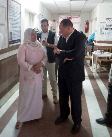 الشرقية يتفقد مستشفى أبوحماد