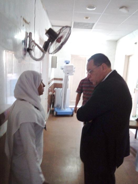 الشرقية يتفقد مستشفى أبوحماد3