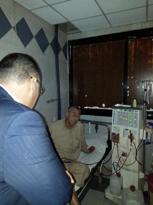 الشرقية يتفقد مستشفى أبوحماد4