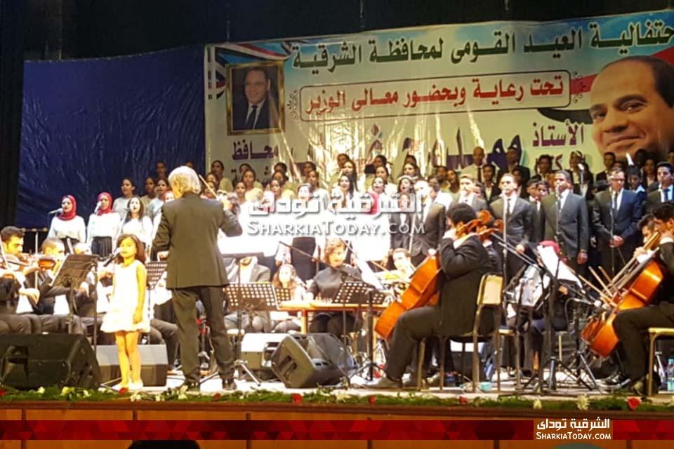 محافظ الشرقية يشهد احتفال العيد القومي بقصر ثقافة الزقازيق