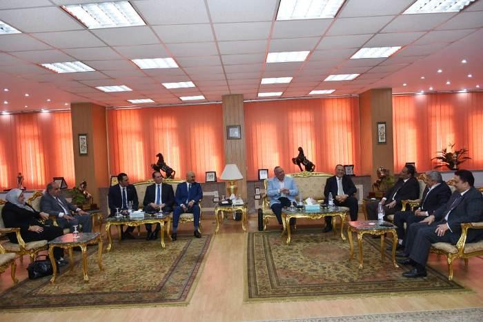 الشرقية يستقبل مدير الأمن والقيادات الشرطية والأمنية ونواب البرلمان لتهنئته بمنصبه الجديد