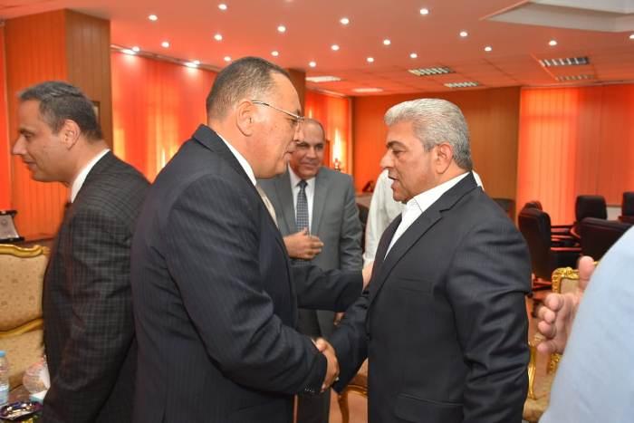 الشرقية يستقبل مدير الأمن والقيادات الشرطية والأمنية ونواب البرلمان لتهنئته بمنصبه الجديد8