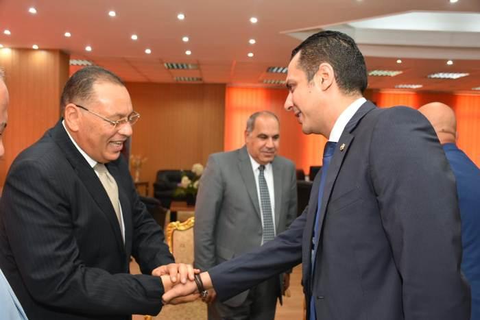 الشرقية يستقبل مدير الأمن والقيادات الشرطية والأمنية ونواب البرلمان لتهنئته بمنصبه الجديد9