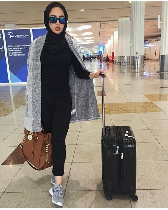 ملابس شتوية للمحجبات 2019