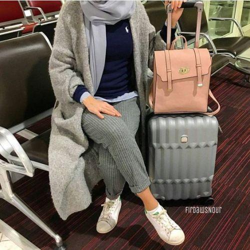 75d84a7de ملابس شتوية للمحجبات 2019 أنيقة | الشرقية توداي
