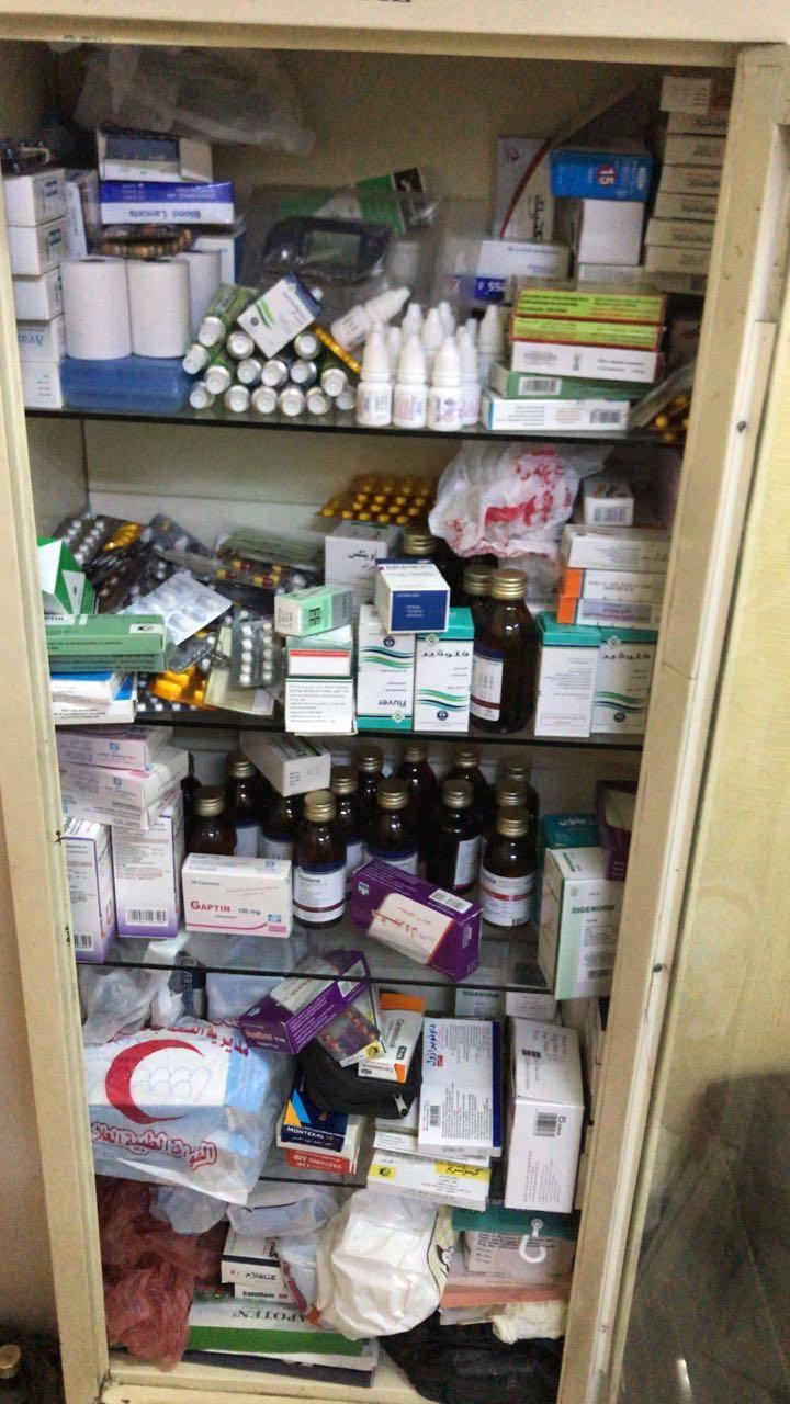 مواد طبية منتهية الصلاحية