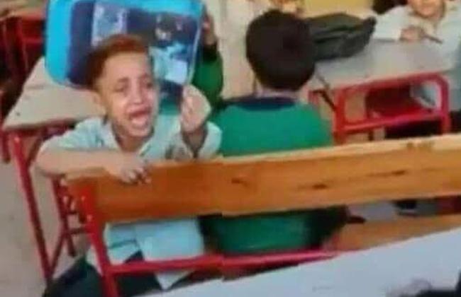 وزارة التربية والتعليم تعاقب طاقم عمل مدرسة الطفل الباكي