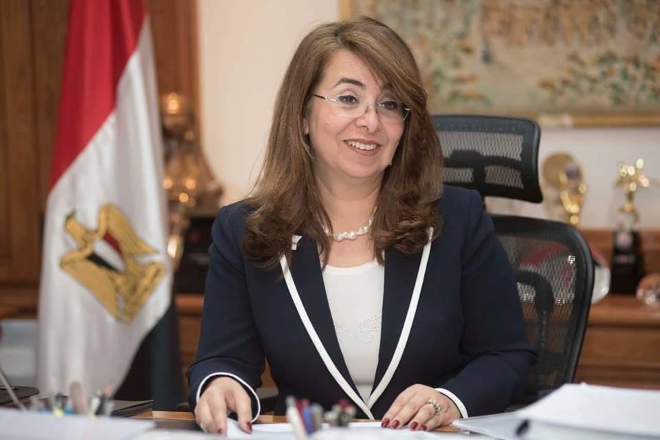 وزيرة التضامن تؤكد دعمها لمبادرة «حاسس بيك»