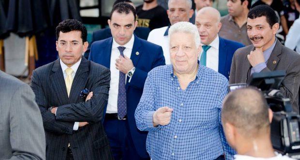 وزير الرياضة يعلق على إيقاف وتجميد مرتضى منصور