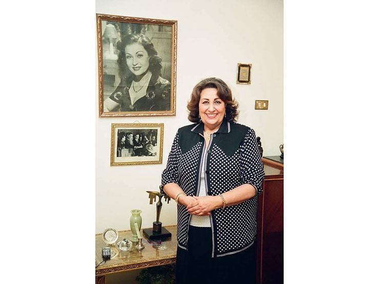 وفاة ابنة الفنانة عقيلة راتب
