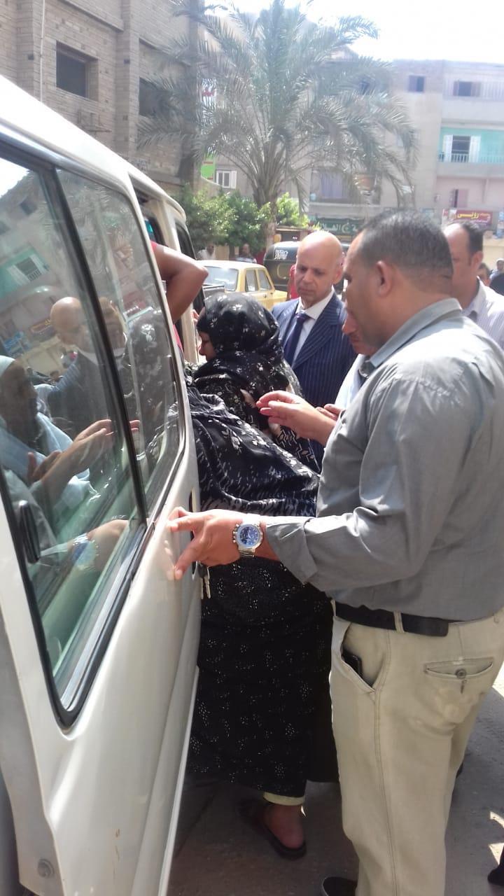وكيل صحة الشرقية يتابع مصابي حادث مستشفى ديرب نجم