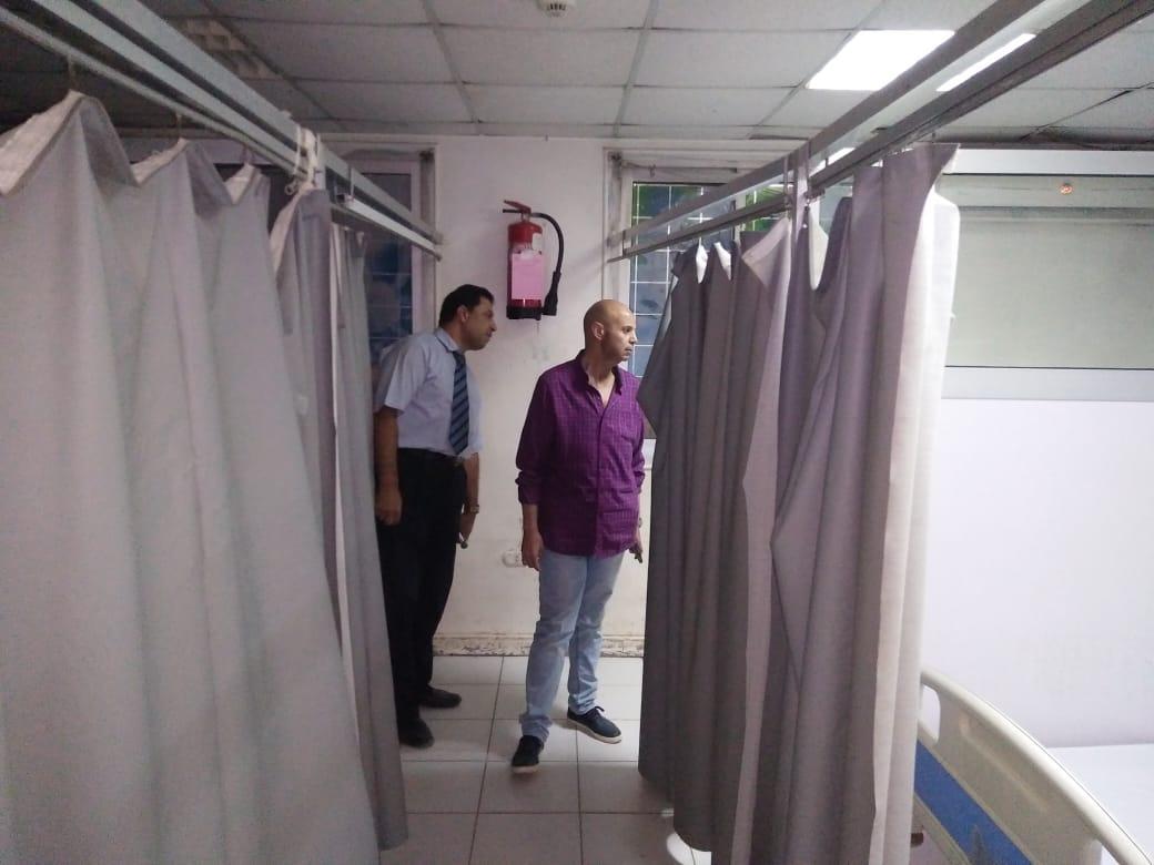وكيل صحة الشرقية يقرر خصم 3 أيام من أطباء مستشفى القنايات (1)
