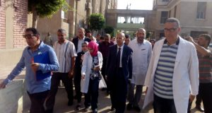 وكيل وزارة الصحة بالشرقية يزور مستشفى فاقوس
