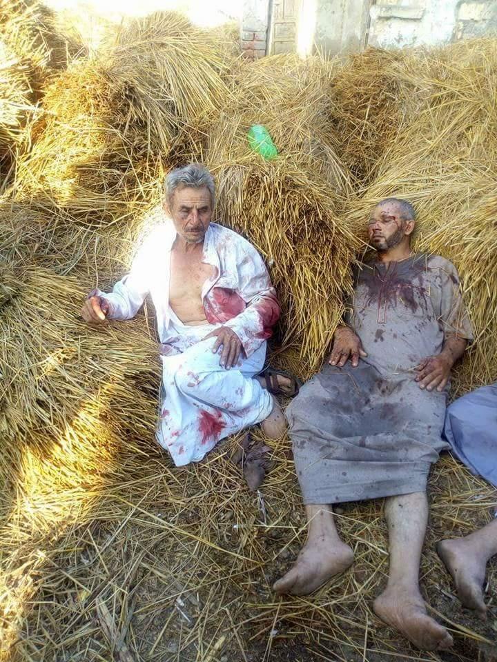 المصابين في معركة السيوف بين عائلتين بصان الحجر