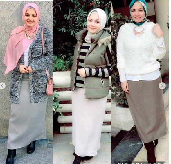 أزياء محجبات شتاء 2019