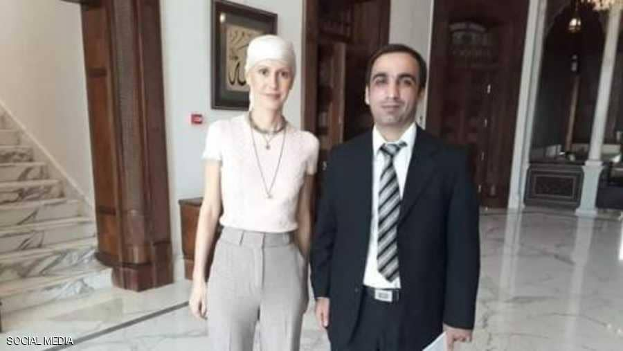 أسماء الأسد تظهر في صور مختلفة