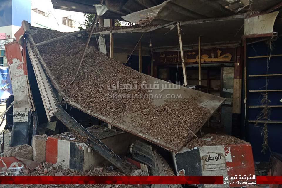 جزء من كشك عم طلعت بمنطقة المحطة بالزقازيق 12