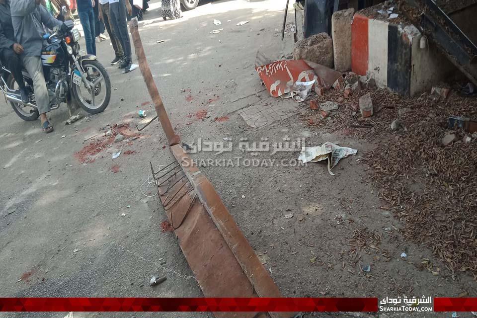 جزء من كشك عم طلعت بمنطقة المحطة بالزقازيق 6