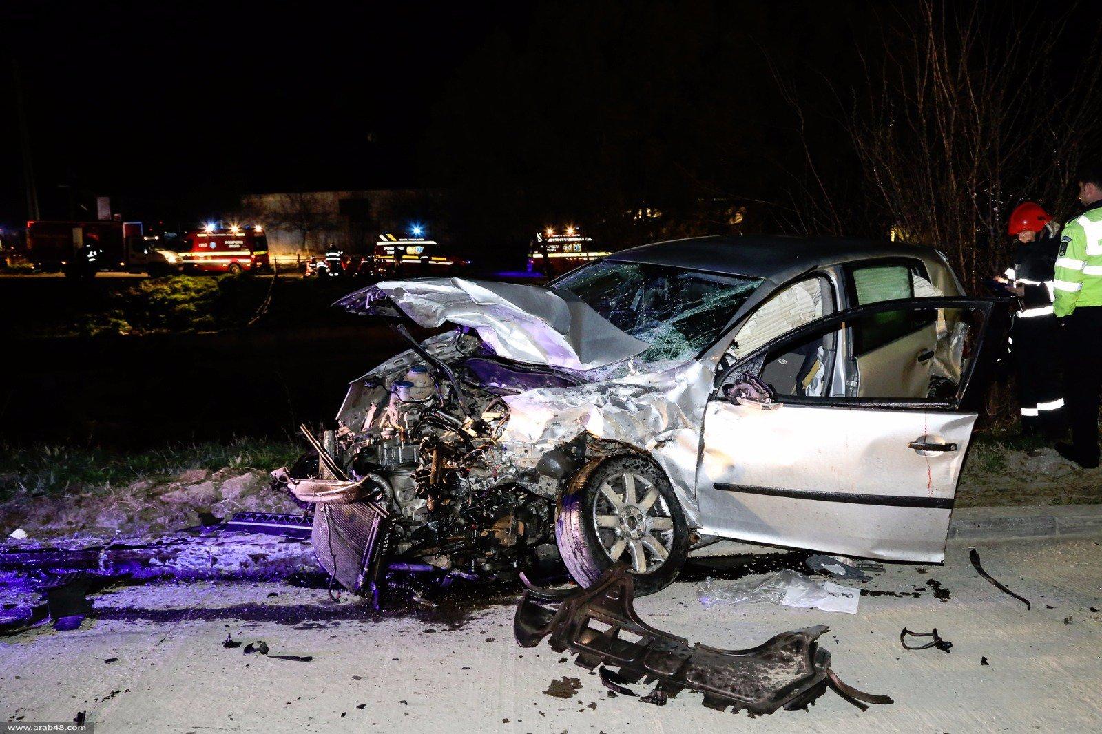 إصابة 3 شباب في حادث مروع بأبوكبير