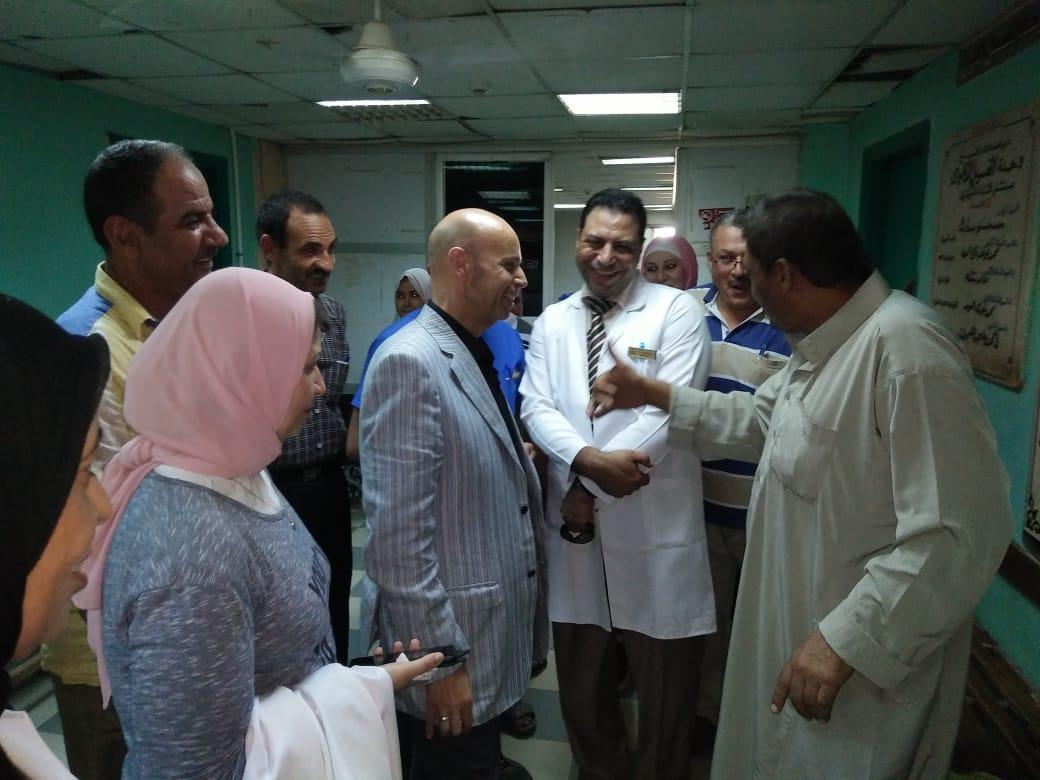 إنشاء قسم العناية المركز للأطفال بمستشفى القنايات المركزي