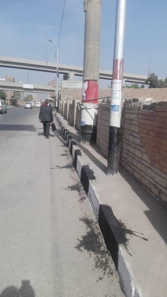 أعمال رفع القمامة من شوارع الزقازيق3