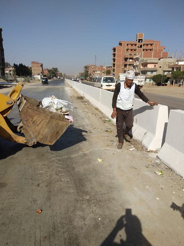 حملات رفع القمامة من الشوارع وإزالة التعديات بالزقازيق 3